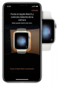 Configura tu Apple Watch con O2